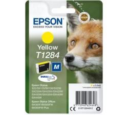 Tinteiro EPSON Amarelo Stylus S22/SX42xW/BX305F (c/alarme RF+AM) - C13T12844022