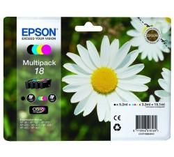 Pack Tinteiro EPSON Serie 18 Quad XP-102/205/305/405 (c/alarme RF+AM) - C13T18064022