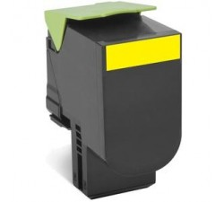 Toner Lexmark 802HYE Amarelo de Elevada capacidade (3k)