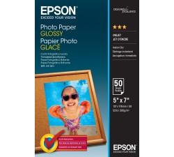 Papel EPSON Photo Glossy 13x18cm 50pp - C13S042545
