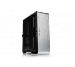 CAIXA INWIN BQ696 MINI ITX CHASSIS WITH ALUMINUM FRAME SILVER - BQ696 SILVER