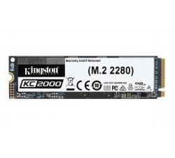 Disco SSD Kingston 1TB KC2000  NVMe PCIe 3.0 M.2
