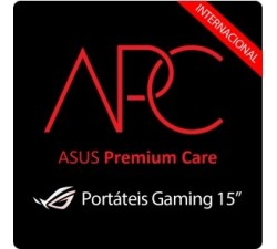 "Extensão Garantia Asus p/ NB Gaming 15\"" + 1ano (virtual)"
