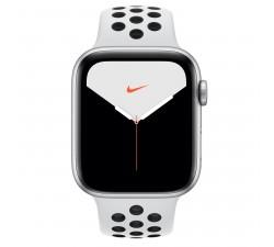 Apple Watch Nike Series 5 GPS, 44mm Silver Aluminium Case Pure Platinum/Black Nike Sport Band