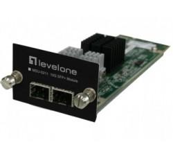 LEVEL ONE 2-Port 10G SFP+ Module MDU-0211