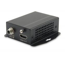 Receptor LEVEL ONE HDMI sobre Cat.5, 300m, Full HD 1080P - HVE-9111RF