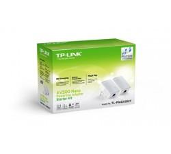 Kit 2 NanoAdap. PowerLine TP-Link 500Mbps Ethernet-TL-PA4010