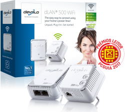 Devolo dLAN 500 WiFi Starter Kit PowerLine - PT9089