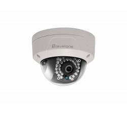 Camera LEVEL ONE Fixed Dome Network, 2-Megapixel,802.3af PoE, Outdoor,Vandalproof,IR LEDs - FCS-3084