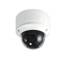 Camera LEVEL ONE Fixa Dome IP, 8MP, H.265/264, 4.3X Optical Zoom, 802.3af PoE, IR LEDs, - FCS-3098