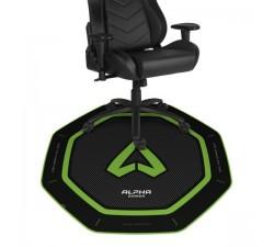 Tapete p/ Cadeira ALPHA Gamer Octan Green - AGOCTANGRN