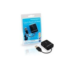 Hub Conceptronic Travel 4-Portas USB 2.0 black - C4PUSB2