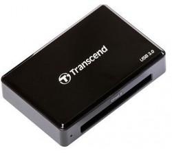 Card Reader TRANSCEND  RDF2 Black, USB 3.1 - CFast 2.0 (Fast Compact Flash)