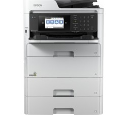 Impressora Epson multifunções WorkForce Pro WF-C579RD2TWF - C11CG77401BR