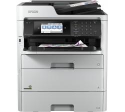 Impressora Epson multifunções  WorkForce Pro WF-C579RDTWF - C11CG77401BB