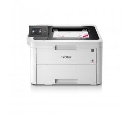 Impressora BROTHER laser LED cores, WiFi, visor tátil 6,8 cm conexão móvel e Cloud - HLL3270CDWYY1