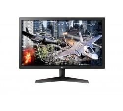 """Monitor LG LED   23,6\""""FHD 1920 x 1080, 1ms, 2xHDMI, Display Port, preto/vermelho"""