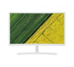 Monitor ACER 23.6\'\' LED Curved FreeSync 4ms 100M:1 ACM 250nits, VGA HDMI, EcoDisplay, White