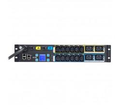 RACK EATON ePDU Metered Input G3 2U  IEC309 32A 1P  12xC13 + 4xC19 - EMIH06