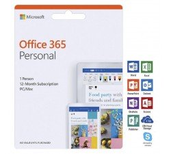 APPLE MPI Card Office 365 Personal PC & Mac 1Yr