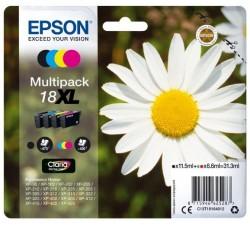 Pack Tinteiros EPSON Serie 18XL Quad XP-102/205/305/405 - C13T18164012