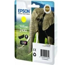 Tinteiro EPSON Amarelo Serie 24XL XP-750/850/950/55 (c/alarme RF+AM) - C13T24344022