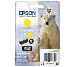 Tinteiro EPSON Amarelo Serie 26XL XP-600/700/800 - C13T26344012