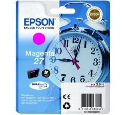 Tinteiro EPSON Serie 27 Magenta WF-3xxx/WF-7xxx - C13T27034012