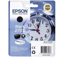 Tinteiro EPSON Serie 27XL Preto WF-3xxx/WF-7xxx - C13T27114012