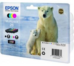 Pack Tint EPSON Quad XP-600/700/800 C13T26164010