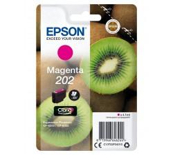 Tinteiro EPSON 202 Magenta Claria Premium XP-60xx (c/alarme RF)- C13T02F34020