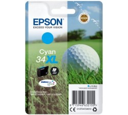 Tinteiros EPSON Cyan Serie 34XL WF-3720/3725 - C13T34724010