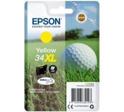 Tinteiros EPSON Amarelo Serie 34XL WF-3720/3725 - C13T34744010