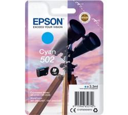 Tinteiro EPSON 502 Cyan - C13T02V24010