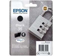 Tinteiros EPSON Preto Serie 35 WF-4720/4725/4740 - C13T35814010